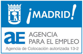 Resultado de imagen de agencia para empleo ayuntamiento de madrid logo vector