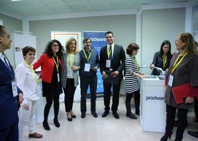 Feria del Empleo en la Era Digital - Ministra - Microsoft - Prodware - Roberto Menéndez