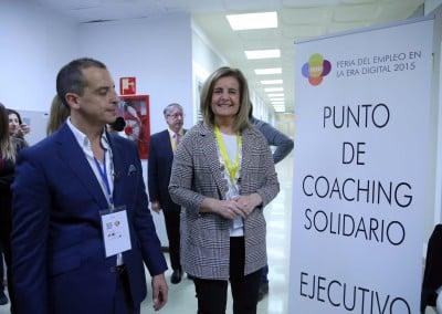 Punto de Coaching Solidario y Ejecutivo AECOP - Feria del Empleo en la Era Digital 2015
