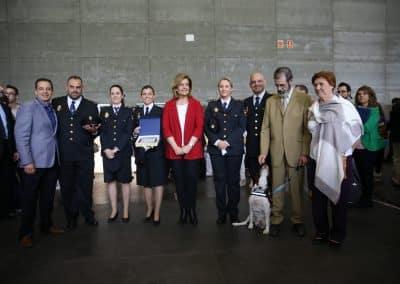 Ministra de Empleo con los premiados de FEED2