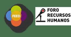 Logos de FEED y Foro RRHH